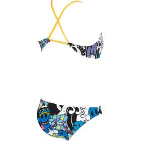 arena Manga Two Pieces Swimsuit Women white/multi